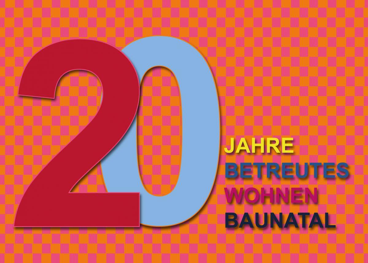 Einladung 20 Jahre Betreutes Wohnen Baunatal