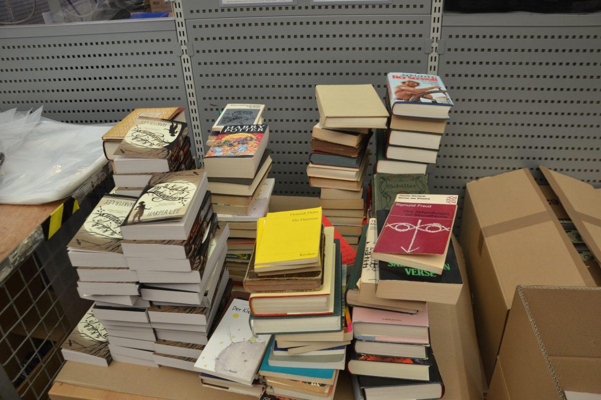Gespendete Bücher, die aktuell in der Welt verboten sind oder verboten waren