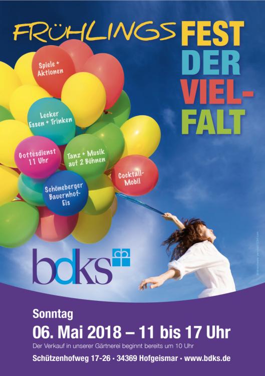 Plakat Frühlings Fest der Vielfalt