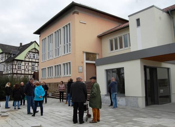 Zahlreiche Besucher am Alten Landratsamt