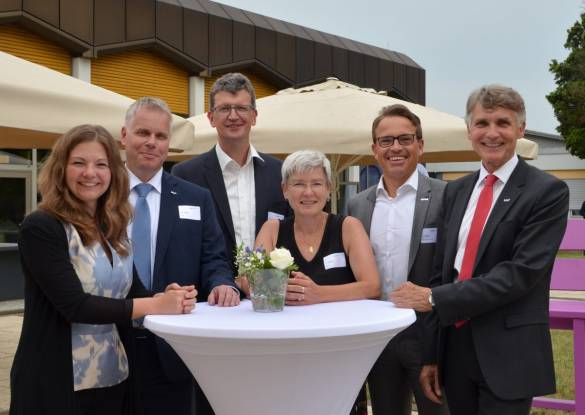 Denise Nitsche, Markus Vollmer, Michael Conzelmann, Sabine Jahner, Carsten Rahier und Joachim Bertelmann (von links)