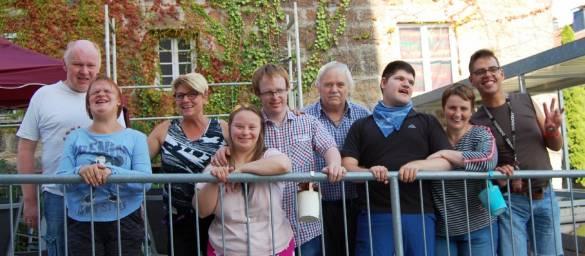 Die Bewohner*innen des Alten Amtsgerichts freuen sehr sich über das gelungene Sommerfest