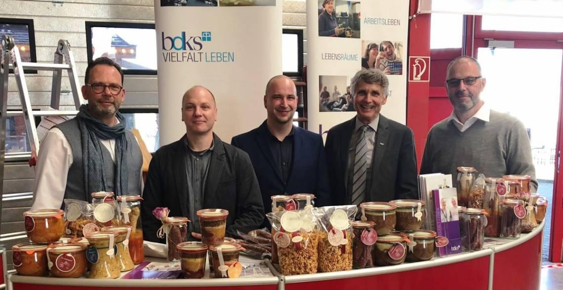 Ralf Pflume (Würth), Oliver Engemann, Christoph Lang, Joachim Bertelmann (bdks), Markus Marth (Würth) (von links)