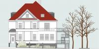 Landgraf-Karl-Straße_Bauschild_Gebäude