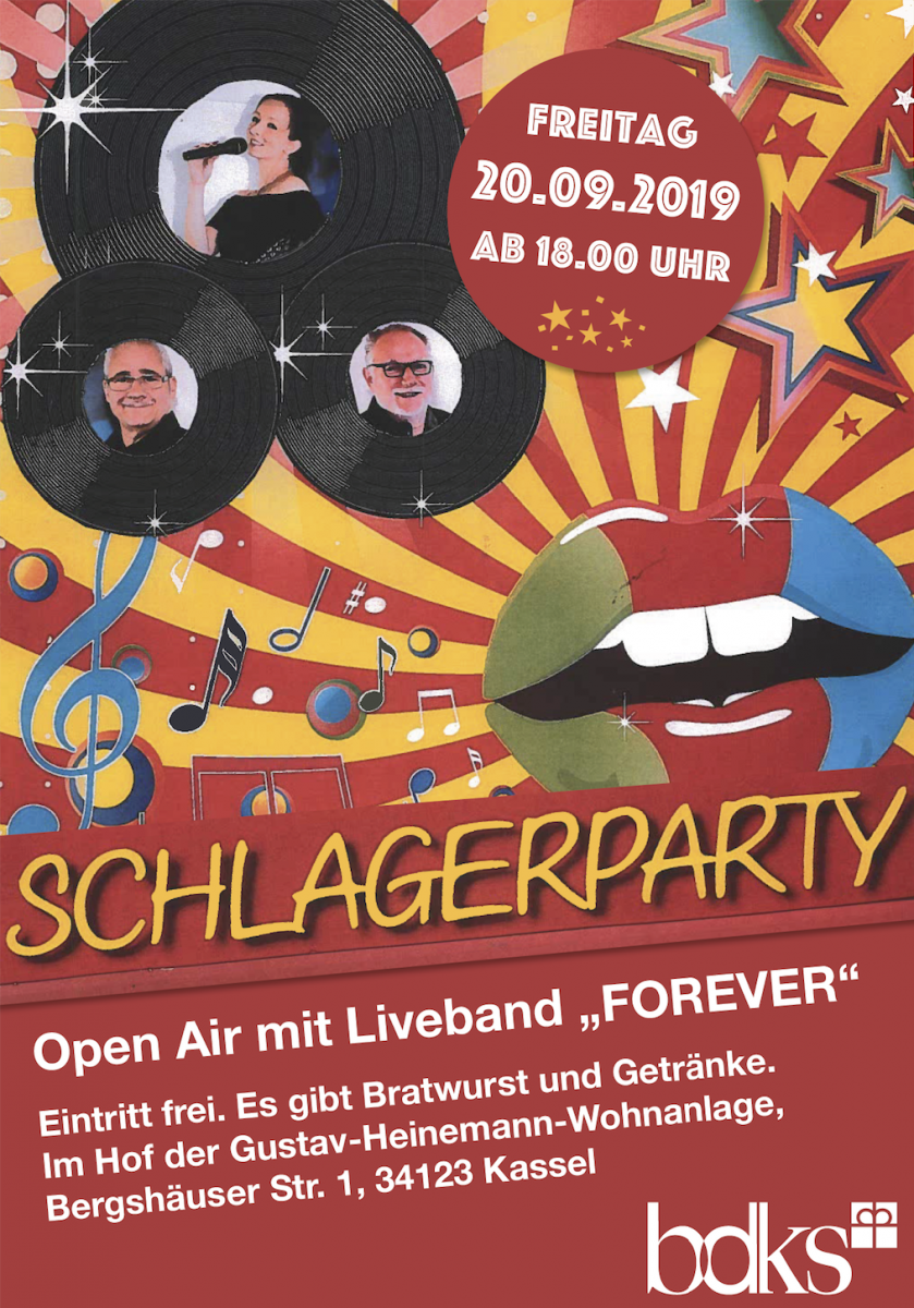 Schlagerparty in der GHW