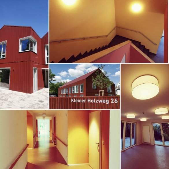 Collage Kleiner Holzweg